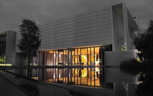 National Gallery of Australia (Canberra) at night