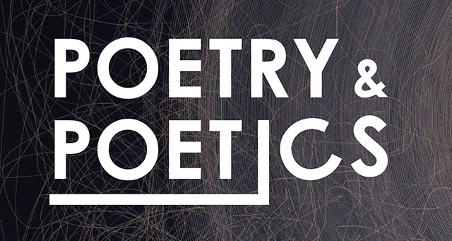 Poetry and Poetics Banner image
