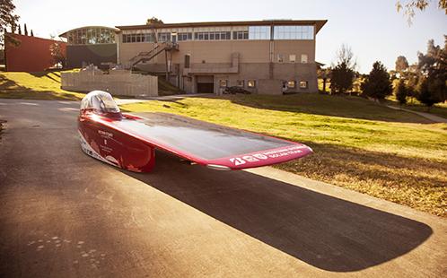 Western Sydney University solar car