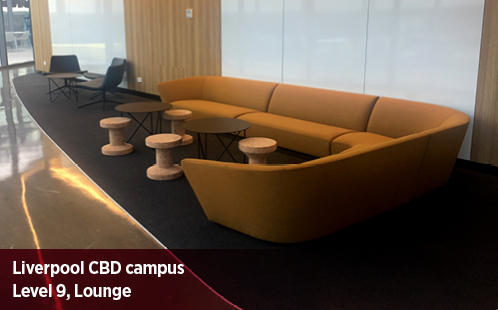 Liverpool CBD Campus, Level 9, Lounge