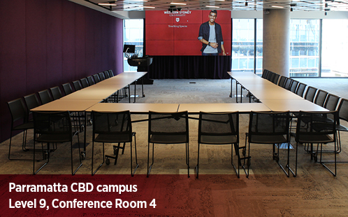 Parramatta CBD Campus, Level 9, Conference Room 4