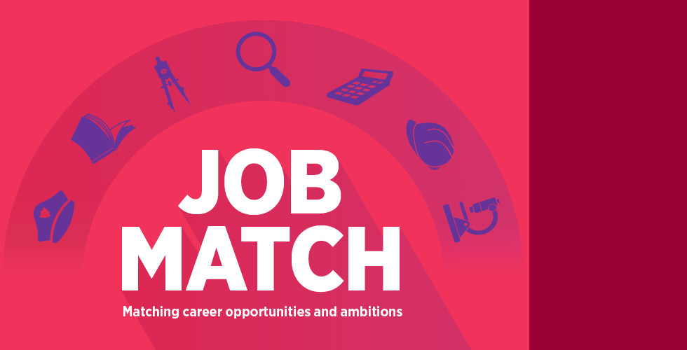 Job Match - Matching career opportunities and ambitions
