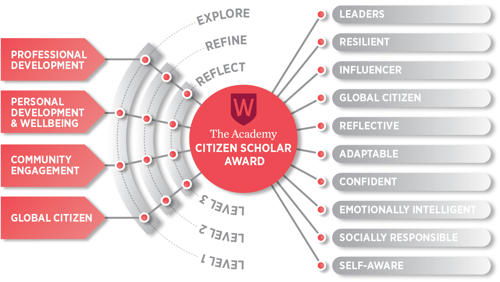 Citizen Scholar Award Structure