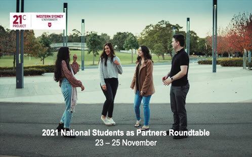 Students As Partners Roundtable <br>23-25 November 2021</br>