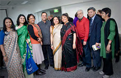 Participants in the Being Bengali event