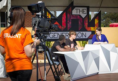 UWS Day, Student Panel.