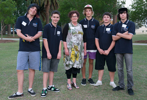 Muswellbrook students and staff