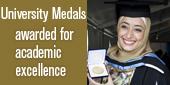 University medals