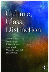 The cover of Culture, Class Distinction