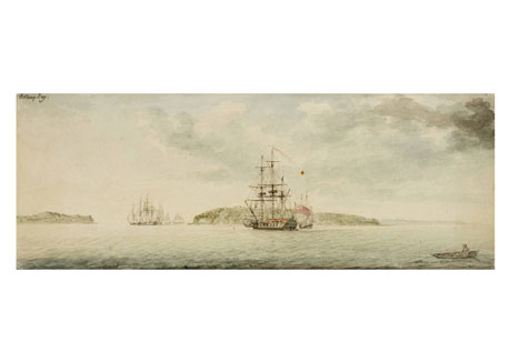 Botany Bay, New South Wales, 1789
