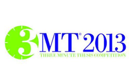 3MT 2013 logo