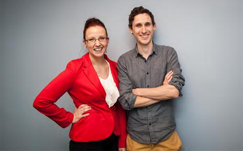 Jenny Shanks and Ryan McMullan
