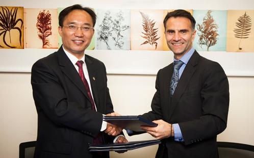 Jinan Uni signing ceremony