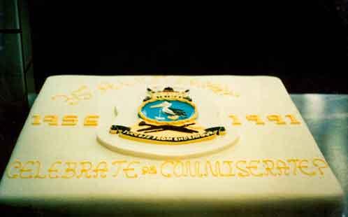 HMAS Nirimba 35 year anniversary cake 1991