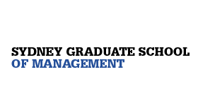 Sydney Graduate School of Management logo