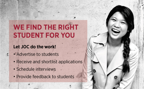 We find the right student for you