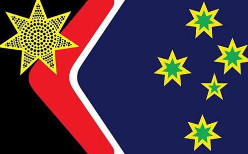 Reconciliation Flag design