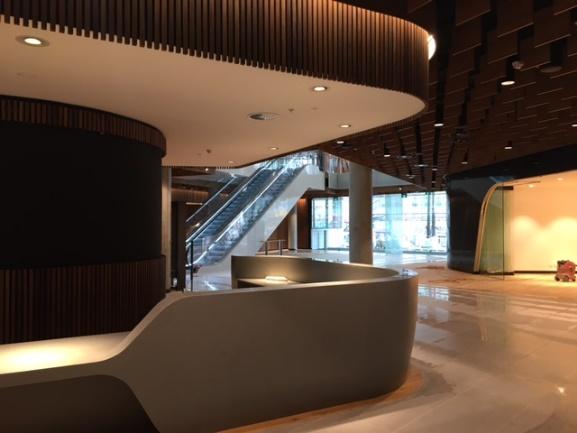 Ground floor of Parramatta City campus