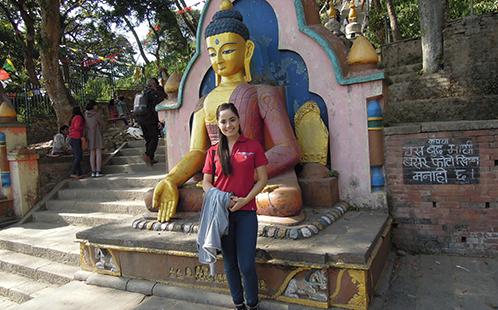 Jessica in Nepal