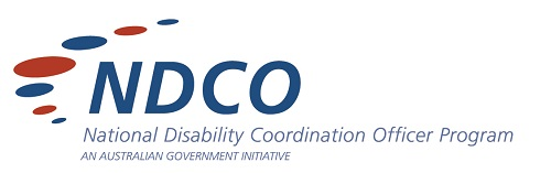 National Disability Coordination program logo