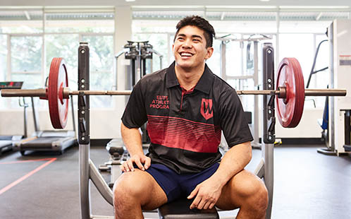 weightlifter Ridge Barredo will compete