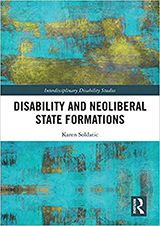 Cover of Disability and Neoliberal State Formations