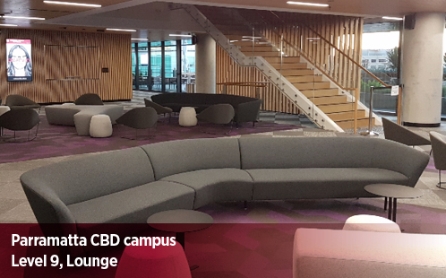 Parramatta CBD Campus, Level 9, Lounge