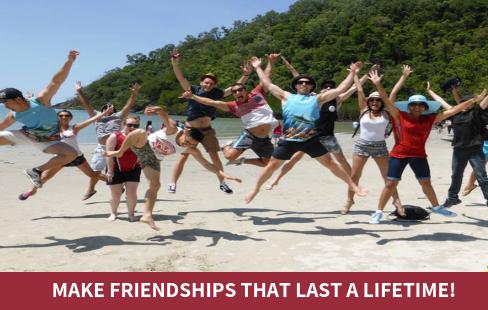 Make friendships that last a lifetime