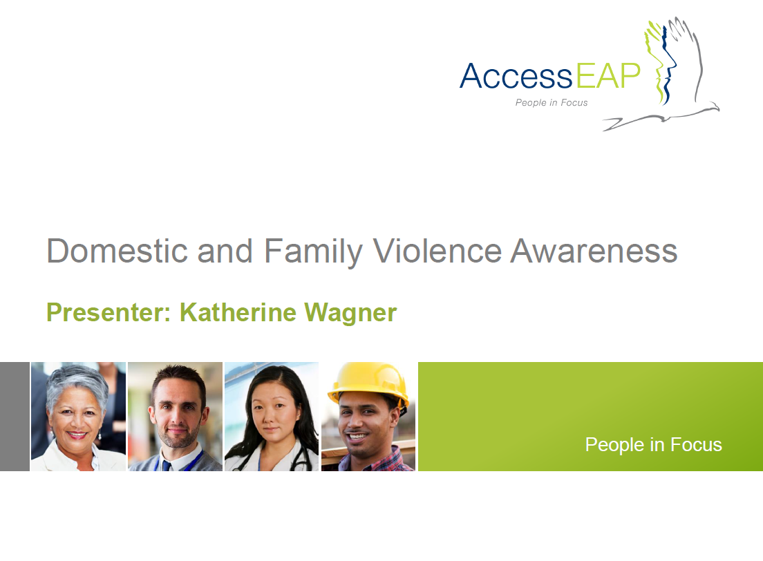 Domestic and Family Violence Awareness