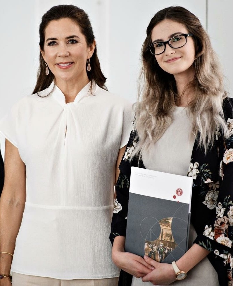 Tennille with Princess Mary