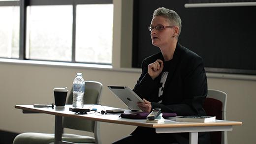 Sara Knox Presenting Her Paper
