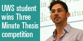 Three Minute Thesis winner