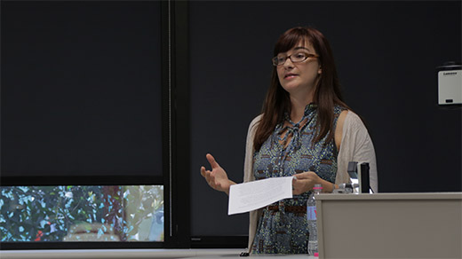 Simone Bignall Presenting Her Paper