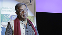 Girish Karnad at the State Library