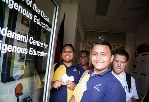 Indigenous students UWS