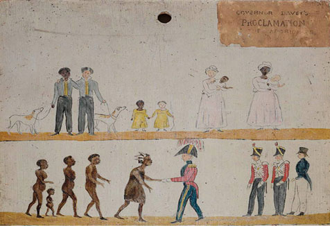 Governor Daveys's Proclamation to the Aborigines, 1816
