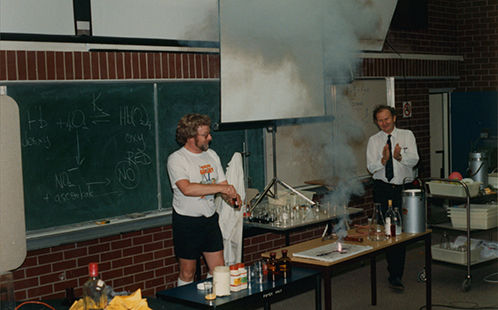 Science and technology display in 1991