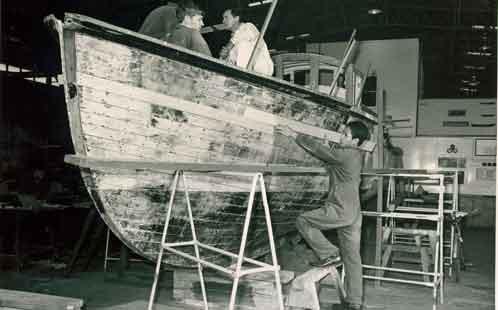 Boatbuilding- HMAS Nirimba 1950s