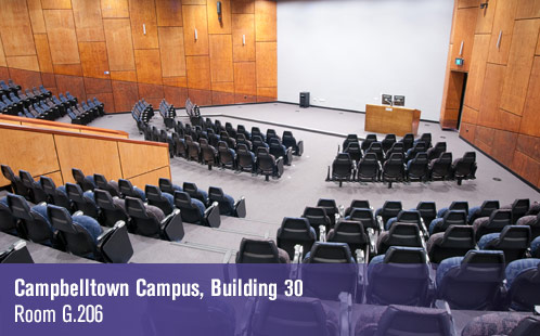 Campbelltown Campus, Building 30, Room G.206