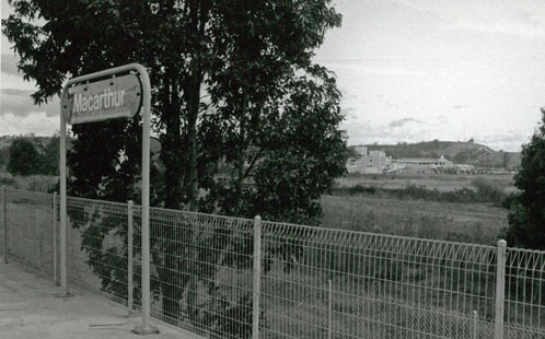 Campbelltown campus from station