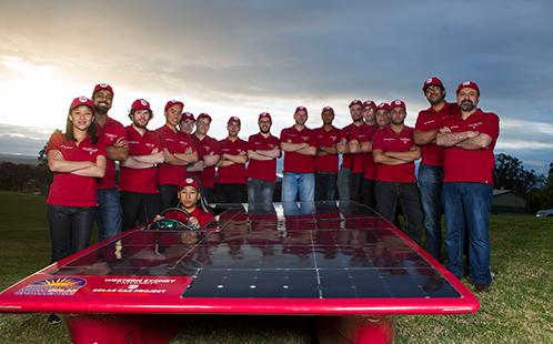 Western's Solar Car team