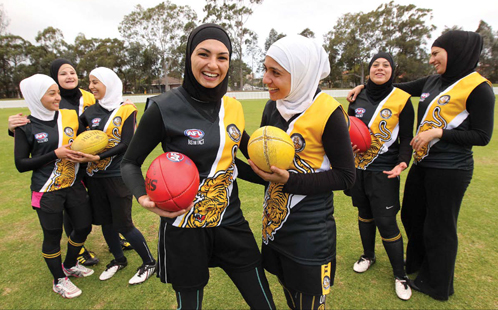 Muslims playing AFL