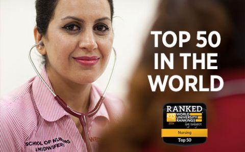 Nursing ranking banner
