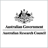 Thumbnail image of black and white ARC council logo with Australian Government shield.