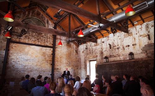 Boilerhouse reception