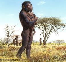 hominid mother