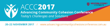 Advancing Community Cohesion conference 2017 logo