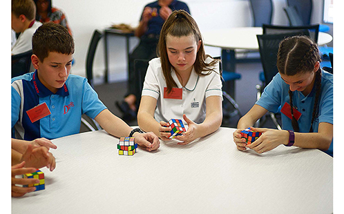 High School students experience Math IT fun at Western Sydney University