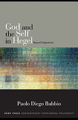 god and the self in hegel