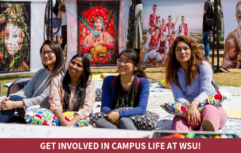 Get involved in Campus Life at WSU